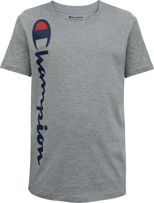 dec4dacc625f Champion Boys' Vertical Script T-Shirt. noImageFound. Previous