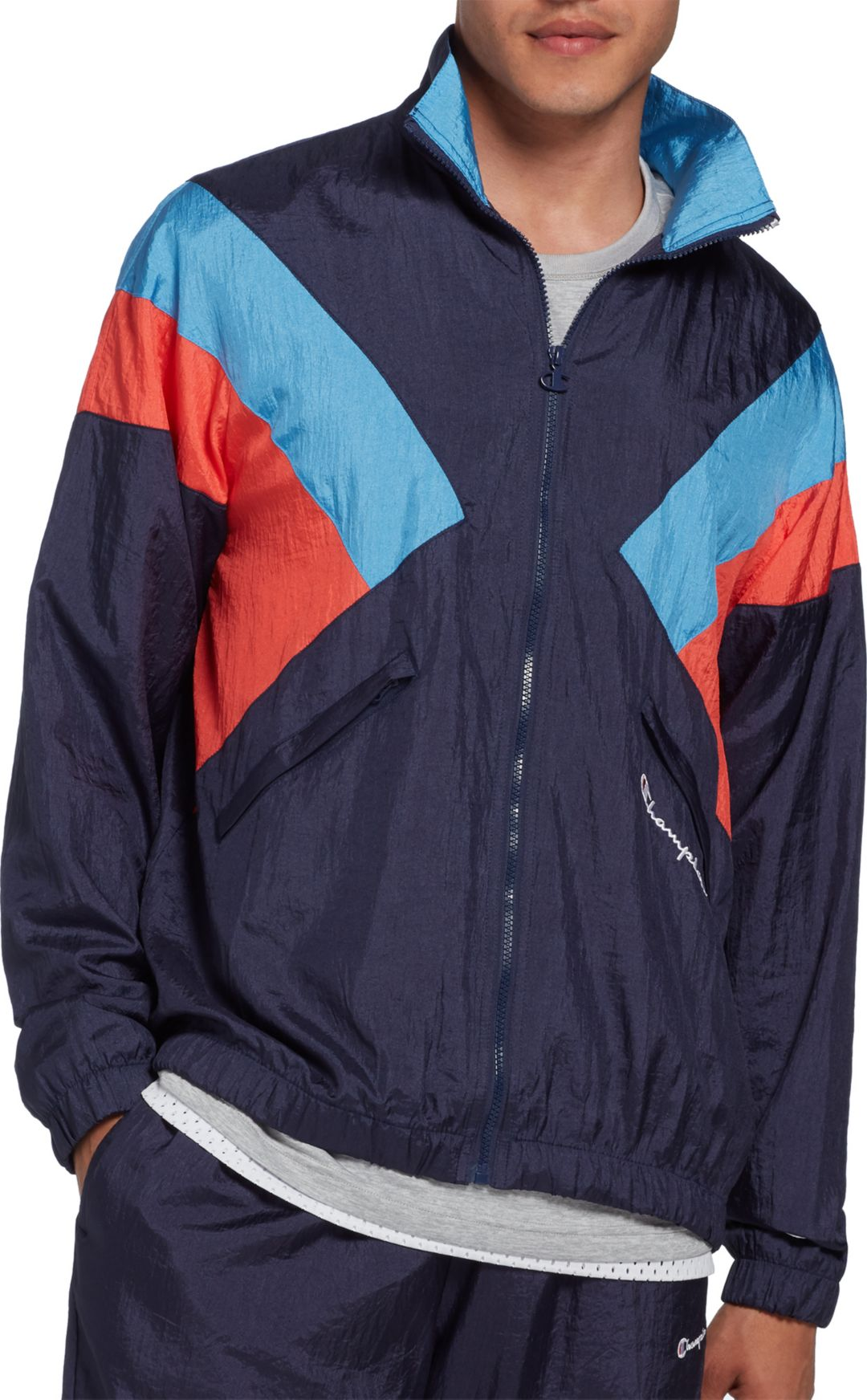 994ddd085 Champion Life Men's Nylon Warm Up Jacket | DICK'S Sporting Goods