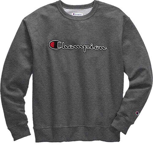 30667213 Champion Men's Stitched Script Fleece Crew Pullover. noImageFound.  Previous. 1