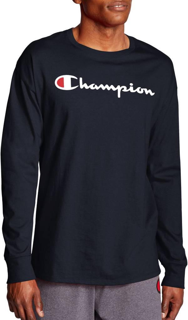 Champion Men's Chest Script Long Sleeve Tee product image