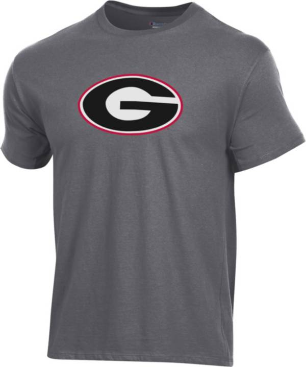 Champion Men's Georgia Bulldogs Grey Ring Spun T-Shirt product image