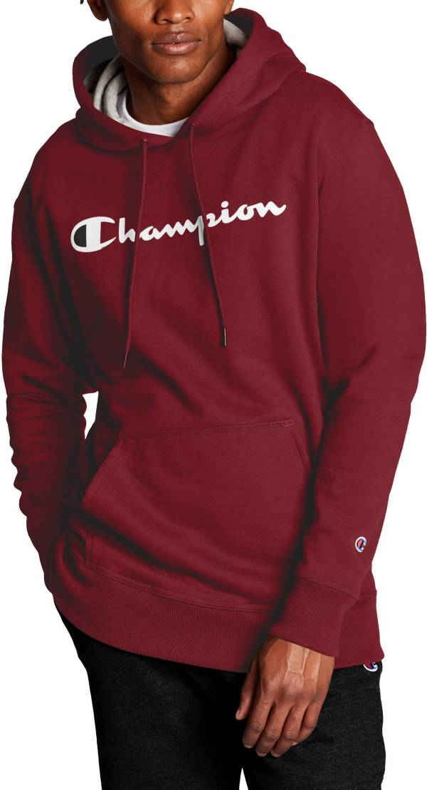 Champion Men's Powerblend Script Graphic Hoodie product image