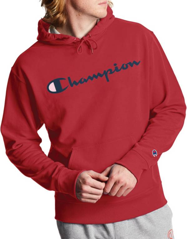 Champion Men's Powerblend Script Graphic Hoodie product image