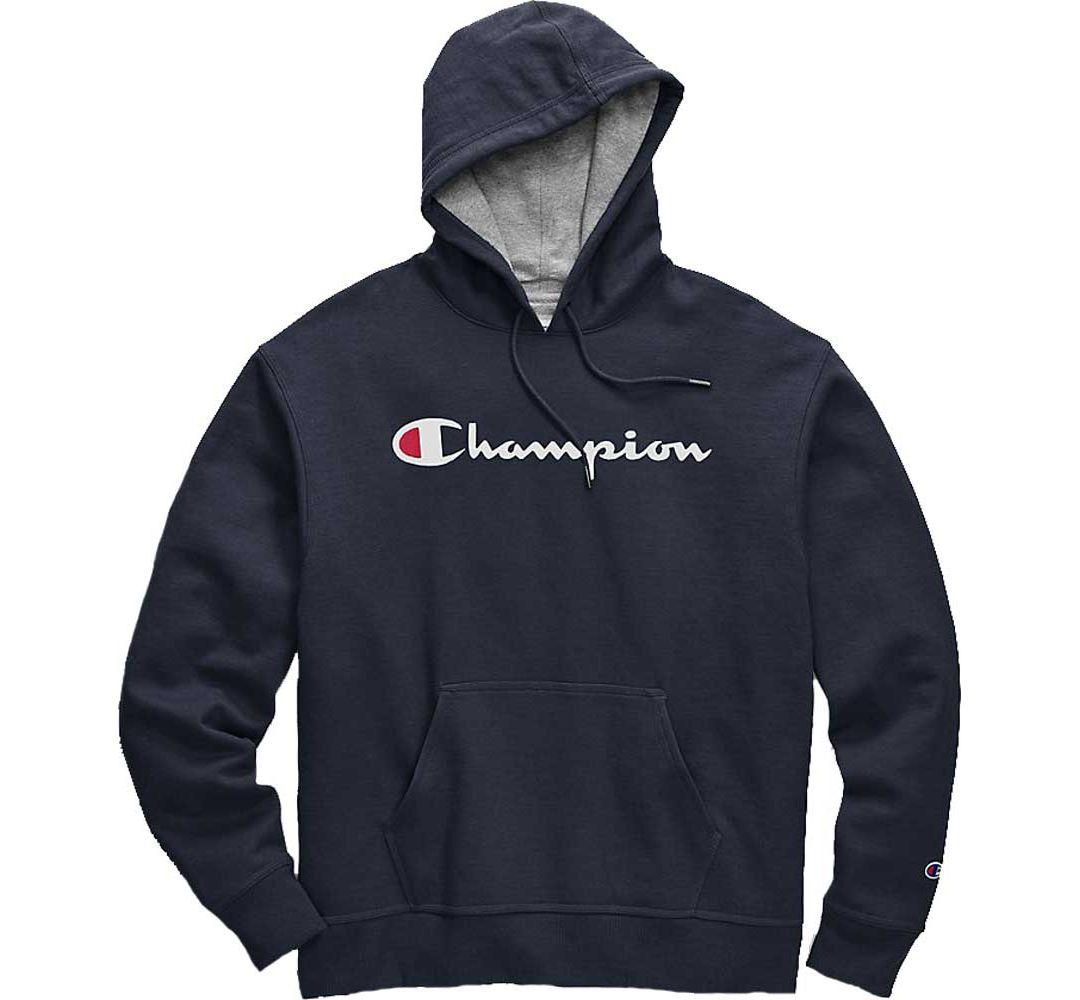 d3310a09bcea Champion Men's Powerblend Script Graphic Hoodie | DICK'S Sporting Goods