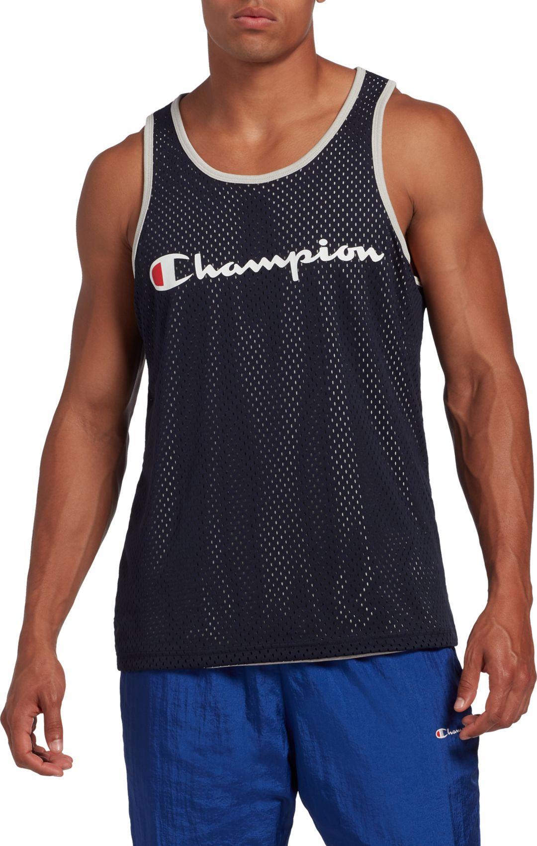 fea6d88c603d Champion Men's Reversible Mesh Tank Top   DICK'S Sporting Goods