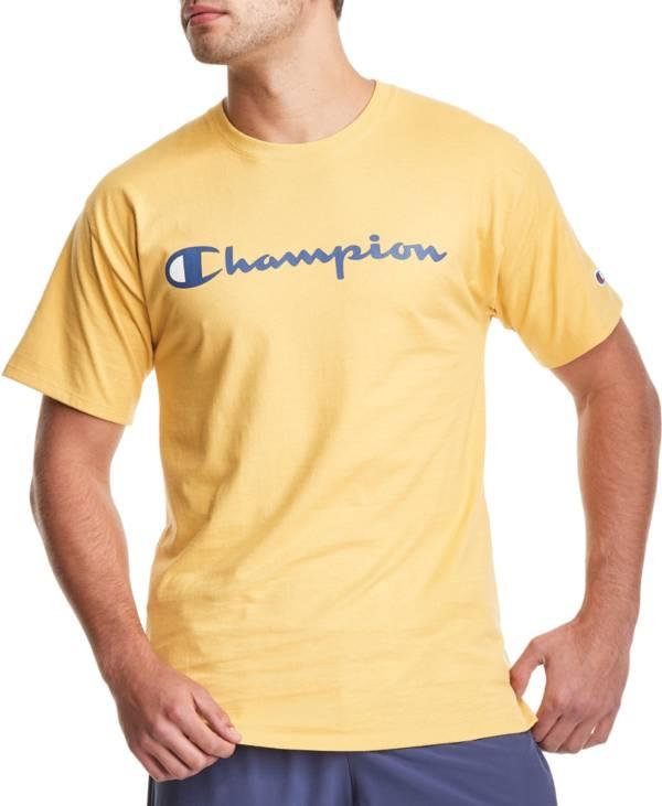 Champion Men's Script Jersey Graphic T-Shirt product image