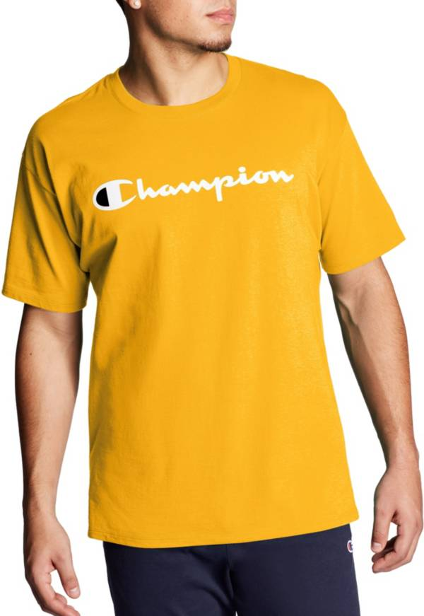 Champion Men's Script Jersey Graphic T-Shirt (Regular and Big & Tall) product image