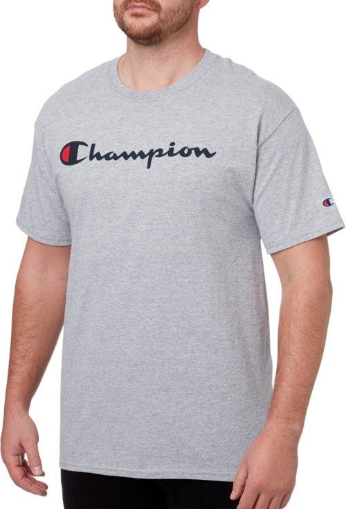 champion t shirt  Champion Men's Script Graphic T-Shirt | DICK'S Sporting Goods