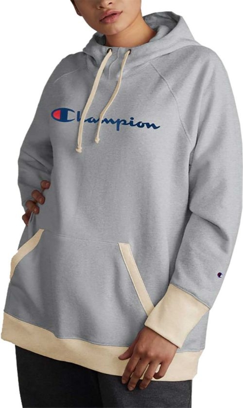 c23988ae5a3 Champion Women s Plus Powerblend Fleece Pullover Hoodie. noImageFound.  Previous