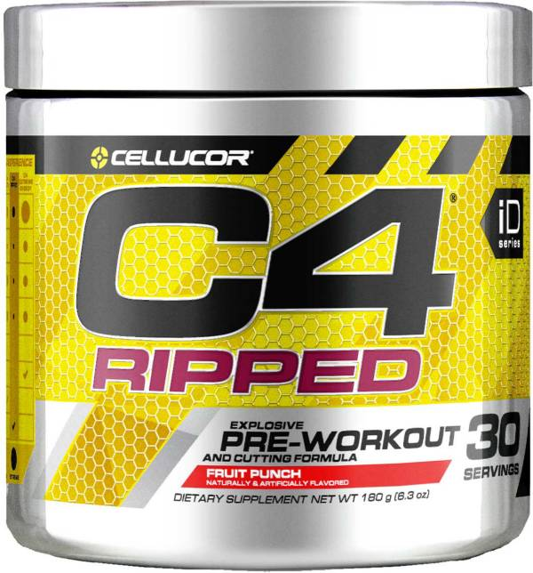 Cellucor C4 Ripped Pre-Workout Fruit Punch product image