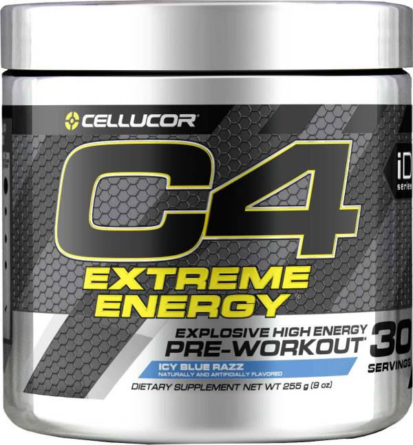Cellucor C4 Extreme Energy Pre-Workout Icy Blue Razz 30 Servings product image