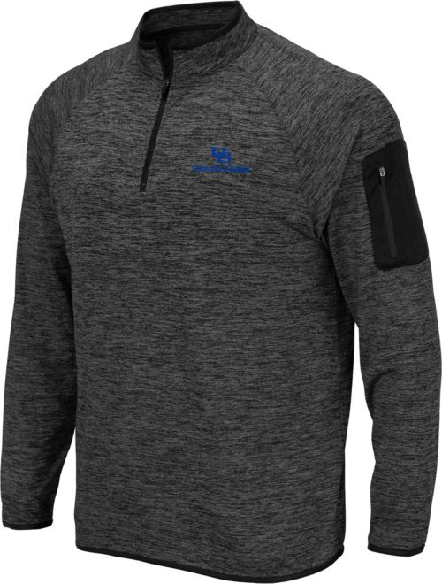 154a948b Colosseum Men's Buffalo Bulls Grey Quarter-Zip Shirt. noImageFound. 1