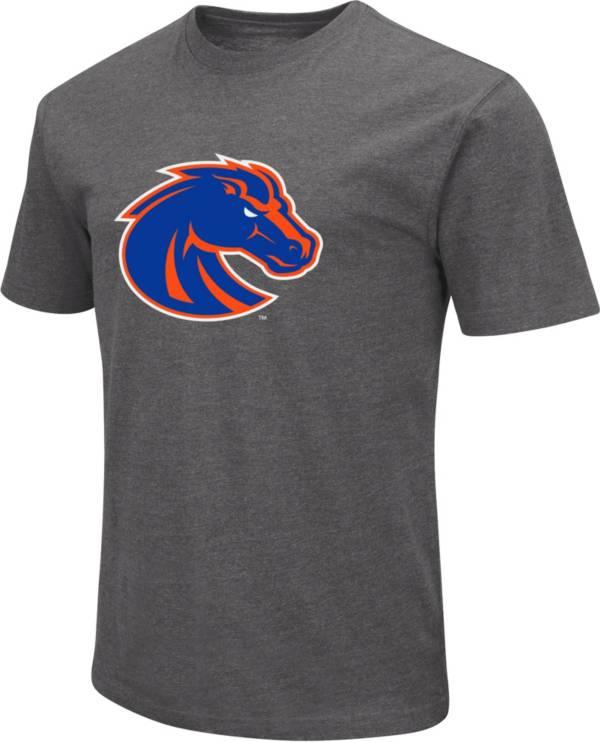 Colosseum Men's Boise State Broncos Grey Dual Blend T-Shirt product image