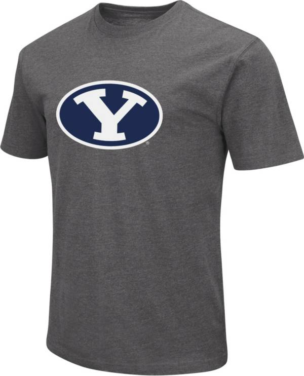 Colosseum Men's BYU Cougars Grey Dual Blend T-Shirt product image