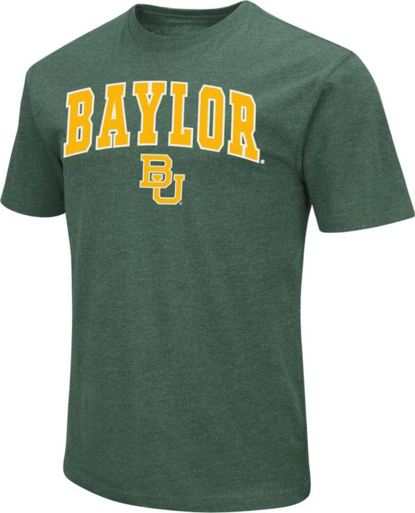 Colosseum Men's Baylor Bears Green Dual Blend T-Shirt product image