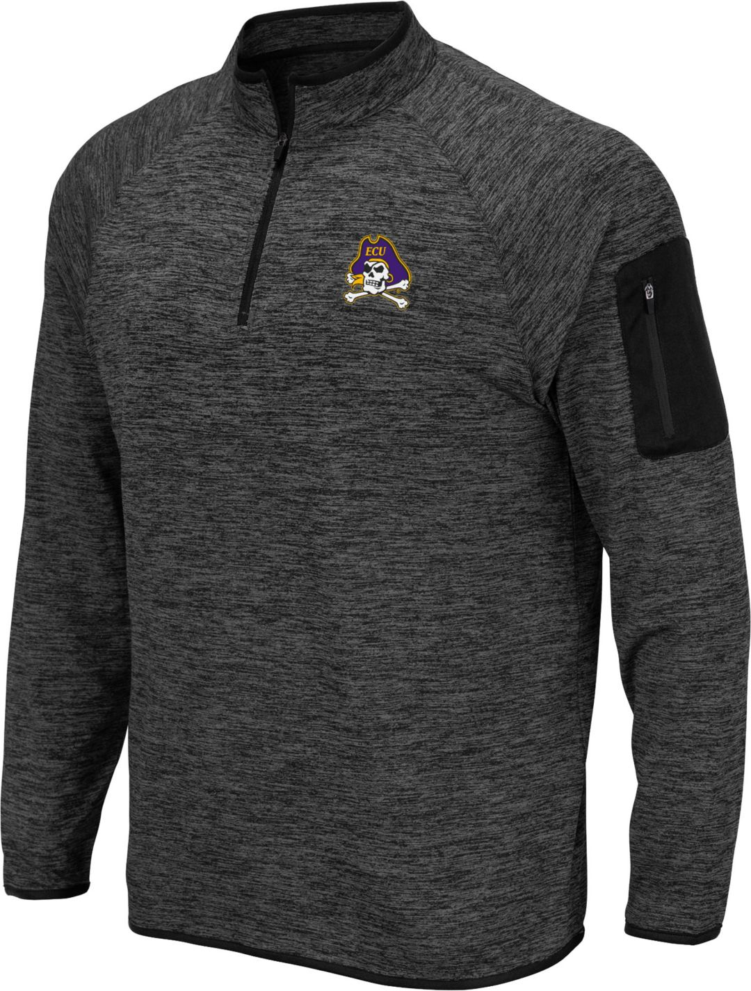more photos a1ee1 457a6 Black NCAA East Carolina Pirates Mens 3-Stripe Football ...