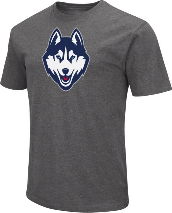 Colosseum Men's UConn Huskies Grey Dual Blend T-Shirt product image