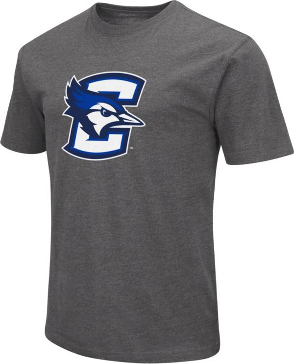 Colosseum Men's Creighton Bluejays Grey Dual Blend T-Shirt product image