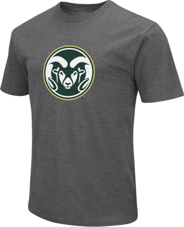 Colosseum Men's Colorado State Rams Grey Dual Blend T-Shirt product image