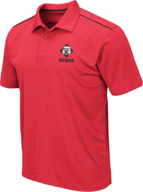 Colosseum Men's Davidson Wildcats Red Eagle Polo product image