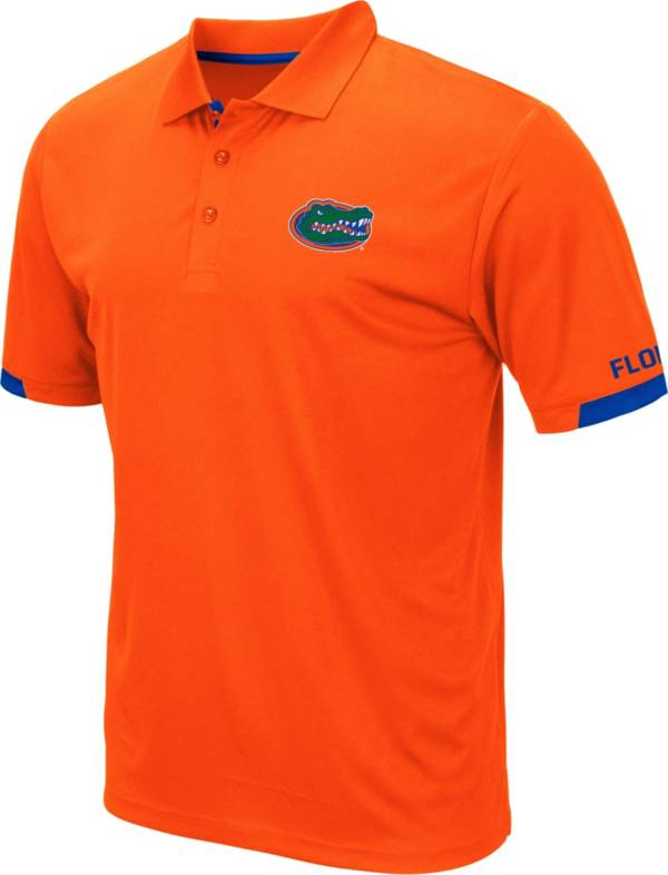Colosseum Men's Florida Gators Orange Fairway Polo product image
