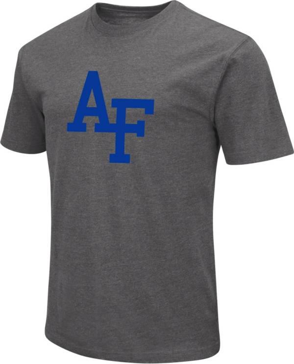 Colosseum Men's Air Force Falcons Grey Dual Blend T-Shirt product image