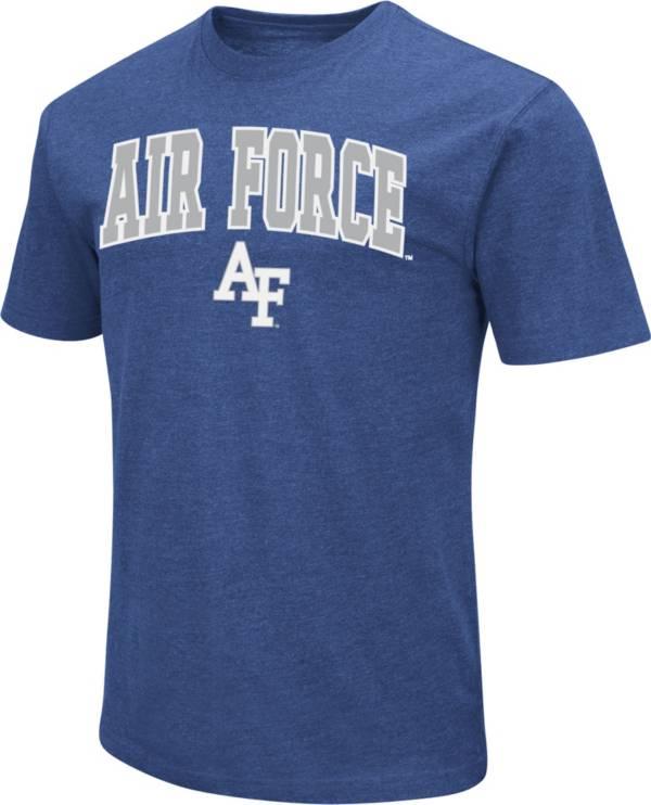 Colosseum Men's Air Force Falcons Blue Dual Blend T-Shirt product image