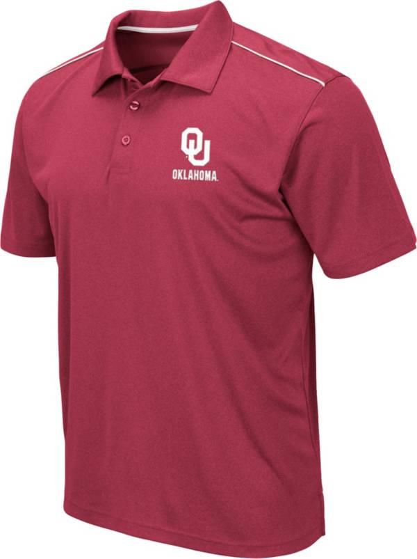 Colosseum Men's Oklahoma Sooners Crimson Eagle Polo product image