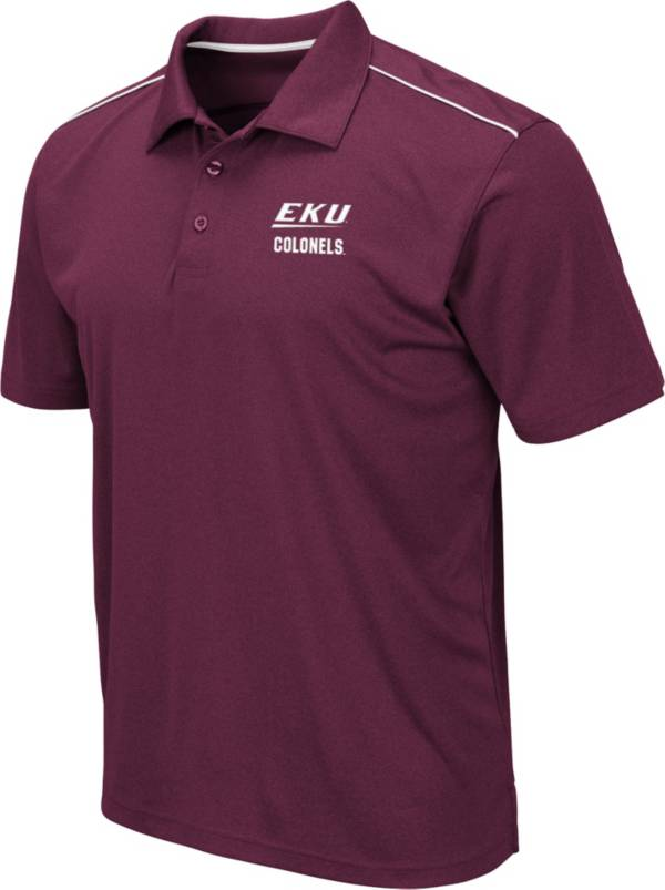 Colosseum Men's Eastern Kentucky Colonels Maroon Eagle Polo product image