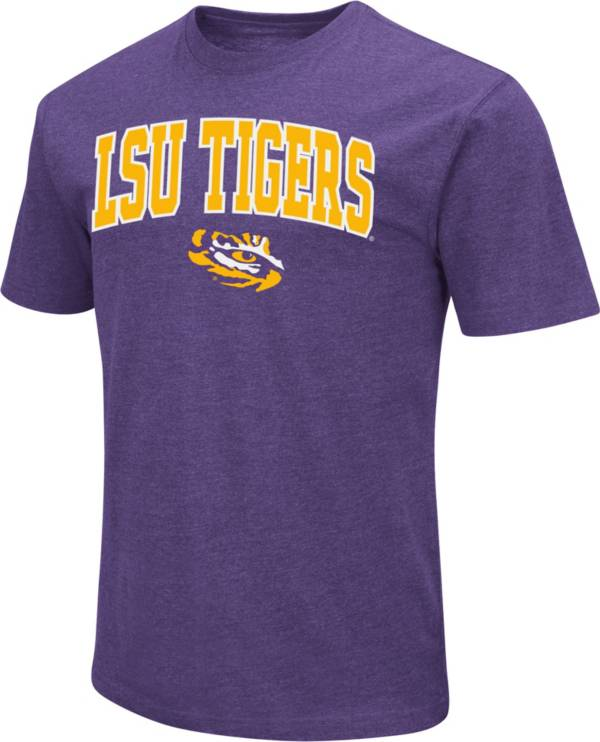 Colosseum Men's LSU Tigers Purple Dual Blend T-Shirt product image