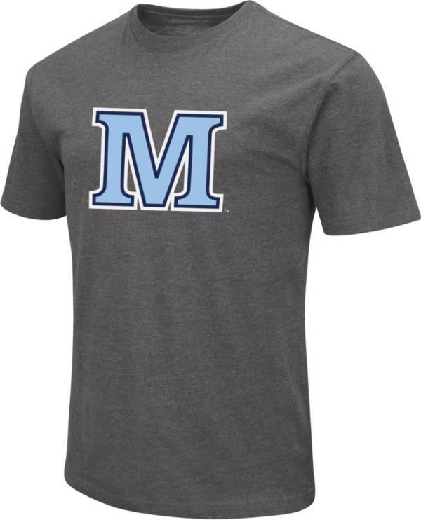 Colosseum Men's Maine Black Bears Grey Dual Blend T-Shirt product image
