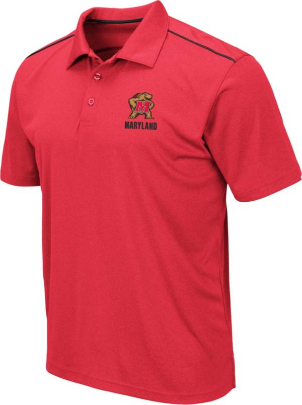 Colosseum Men's Maryland Terrapins Red Eagle Polo product image