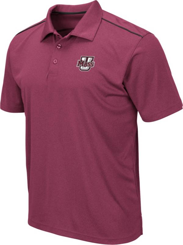 Colosseum Men's UMass Minutemen Maroon Eagle Polo product image