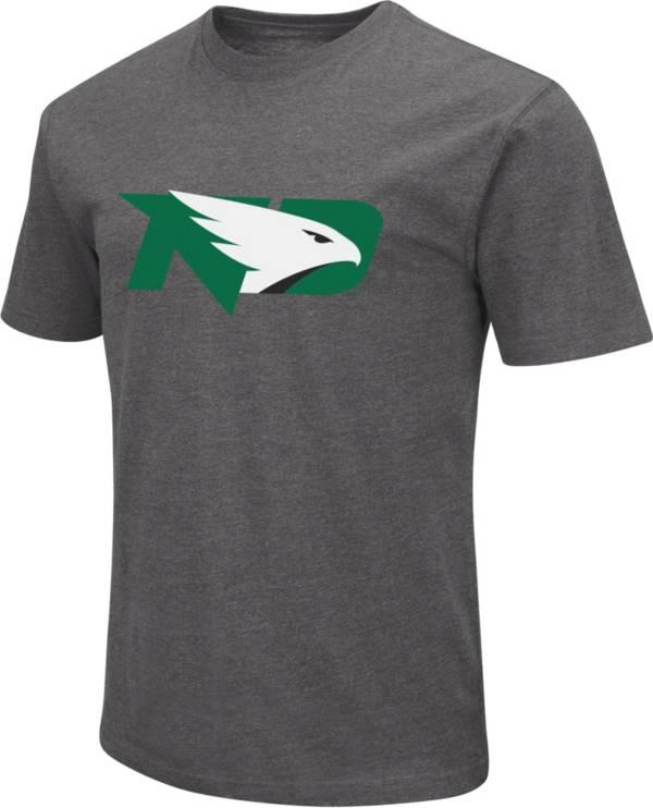 Colosseum Men's North Dakota Fighting Hawks Grey Dual Blend T-Shirt product image