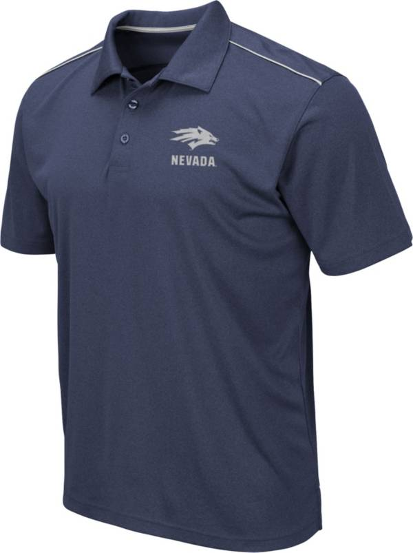 Colosseum Men's Nevada Wolf Pack Blue Eagle Polo product image