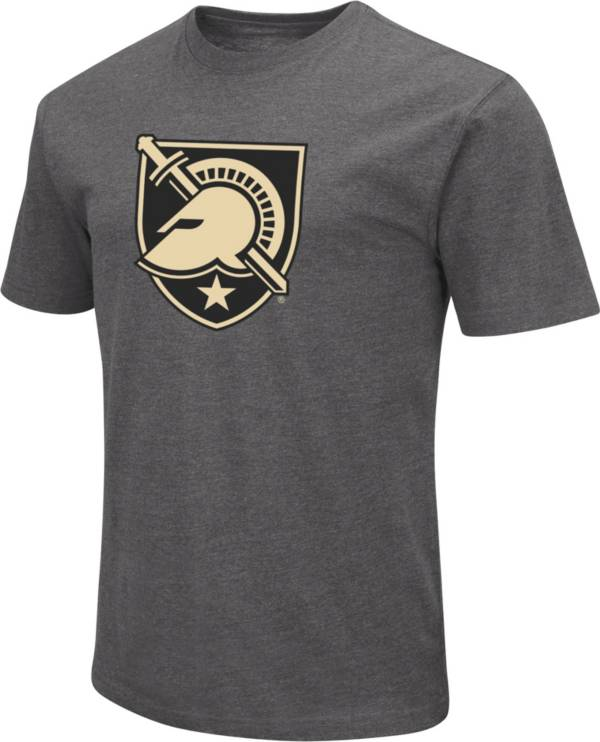 Colosseum Men's Army West Point Black Knights Grey Dual Blend T-Shirt product image