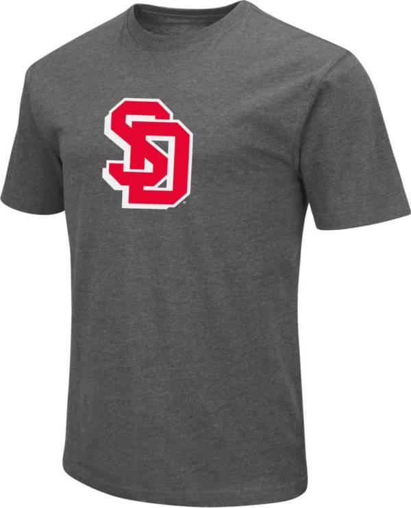 Colosseum Men's South Dakota Coyotes Grey Dual Blend T-Shirt product image