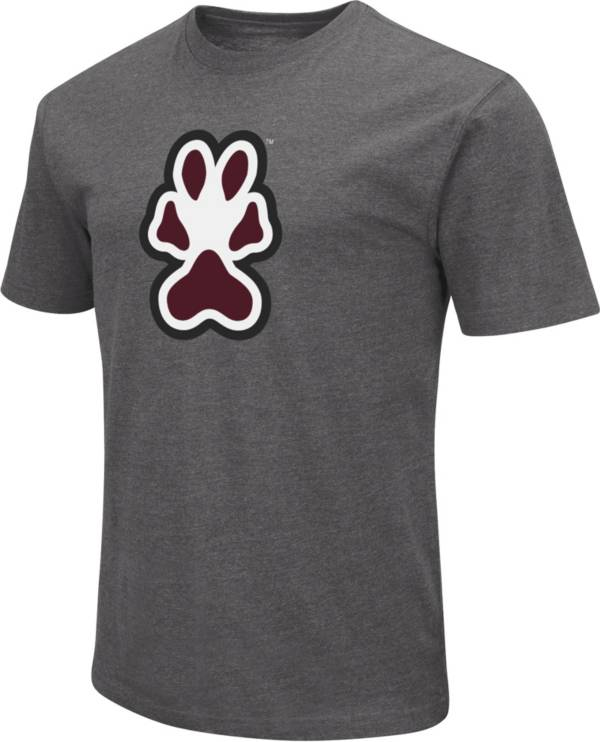 Colosseum Men's Southern Illinois  Salukis Grey Dual Blend T-Shirt product image