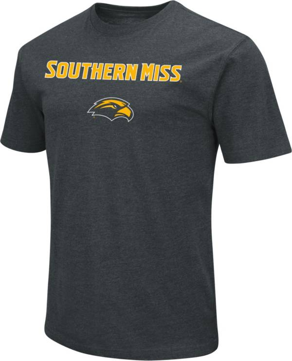 Colosseum Men's Southern Miss Golden Eagles Dual Blend Black T-Shirt product image