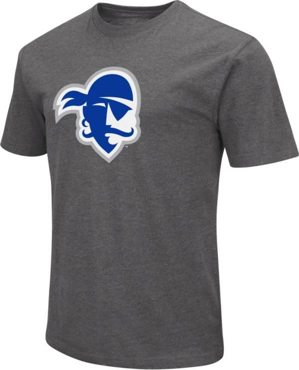 Colosseum Men's Seton Hall Seton Hall Pirates Grey Dual Blend T-Shirt product image
