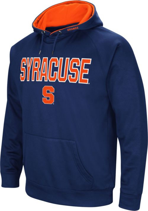 Colosseum Men S Syracuse Orange Blue Fleece Pullover Hoodie Dick S