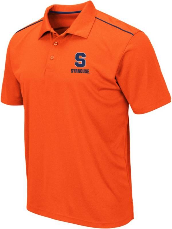 Colosseum Men's Syracuse Orange Blue Eagle Polo product image