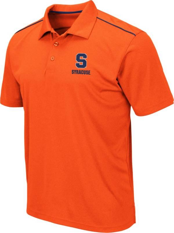 Colosseum Men's Syracuse Orange Orange Eagle Polo product image