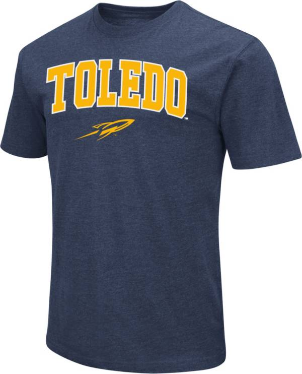 Colosseum Men's Toledo Rockets Midnight Blue Dual Blend T-Shirt product image