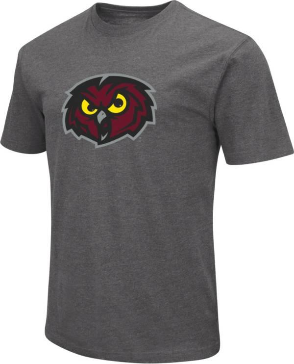 Colosseum Men's Temple Owls Grey Dual Blend T-Shirt product image