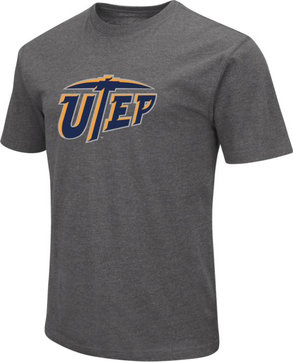 Colosseum Men's UTEP Miners Grey Dual Blend T-Shirt product image