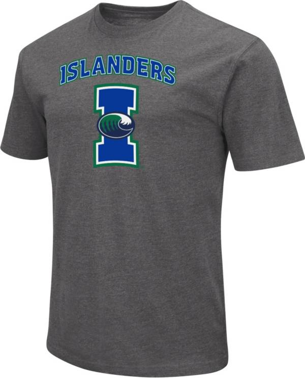 Colosseum Men's Texas A&M-Corpus Christi Islanders Grey Dual Blend T-Shirt product image