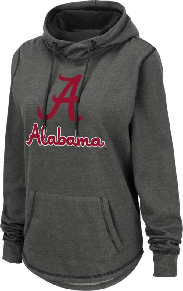 Colosseum Women's Alabama Crimson Tide Grey Pullover Hoodie product image