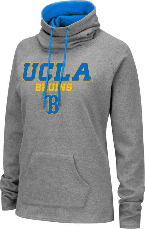 Colosseum Women s UCLA Bruins Grey Funnel-Neck Pullover Sweatshirt.  noImageFound. 1 3589d35d2