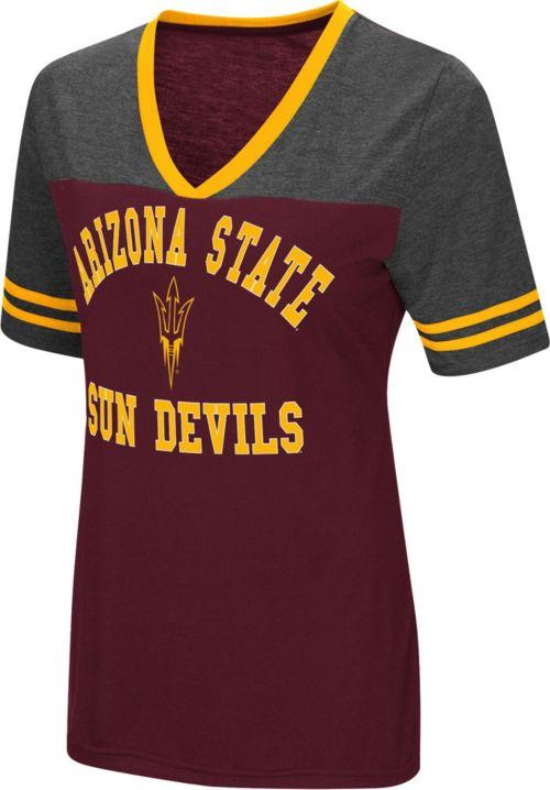 Colosseum Women s Arizona State Sun Devils Maroon Grey The Whole ... 9e21438e5